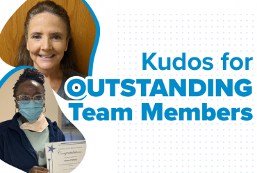 Kudos for Outstanding Team Members