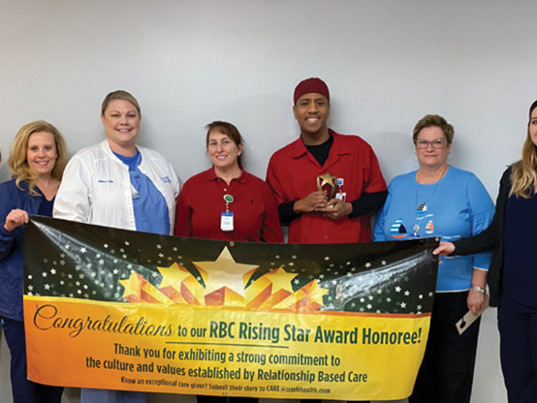 CARE Team Presents Keanu Ashmore – Rising Star Award