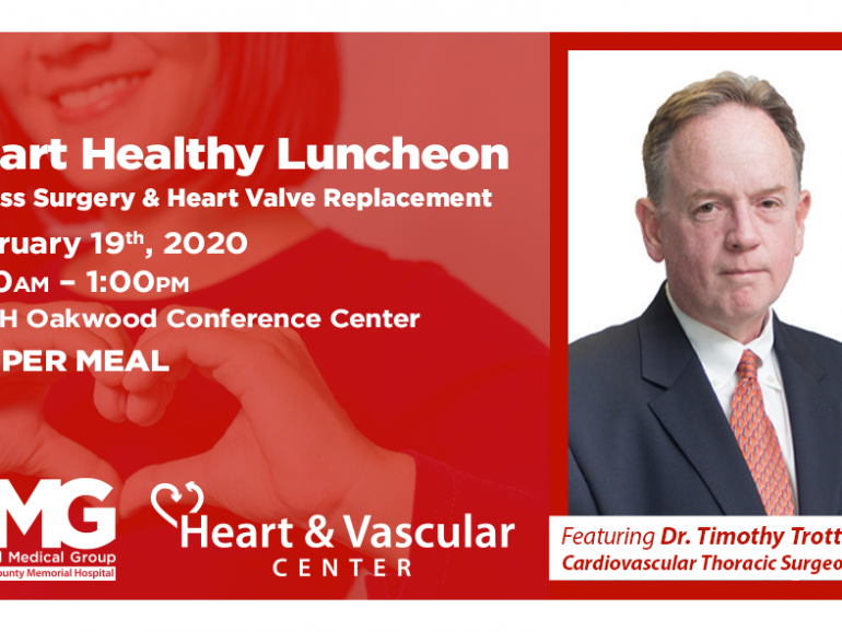 February Heart Healthy Luncheon and Risk Assessments