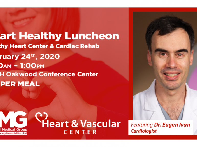 2nd February Heart Healthy Luncheon and Risk Assessments