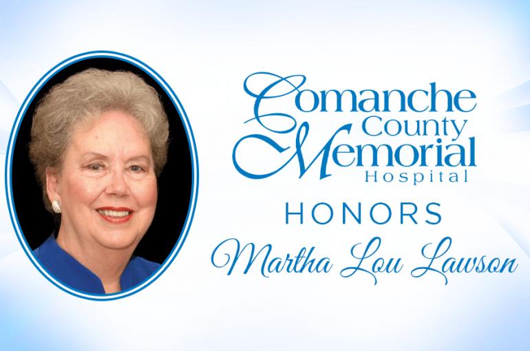 CCMH Honors Martha Lou Lawson